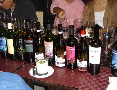 Presentación de los vinos volcánicos en la Asociación de Sumilliers de Córdoba