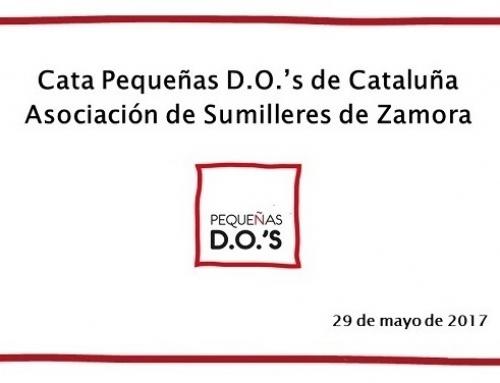 Las Pequeñas D.O.'s catalanas se presentan en Zamora