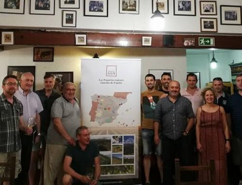 Interesante cata de Txakolis en el Mesón El Cordero de Segovia