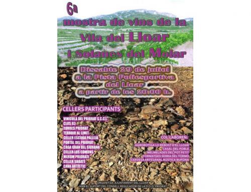 La villa del Priorat Solanas del Molar celebra este sábado la muestra de vinos