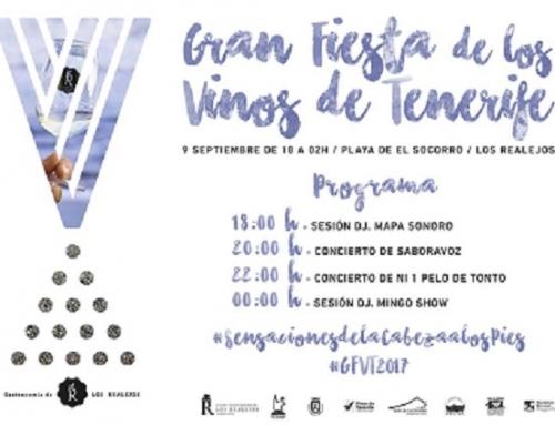 La Gran Fiesta de los vinos de Tenerife este sábado en la Playa del Socorro