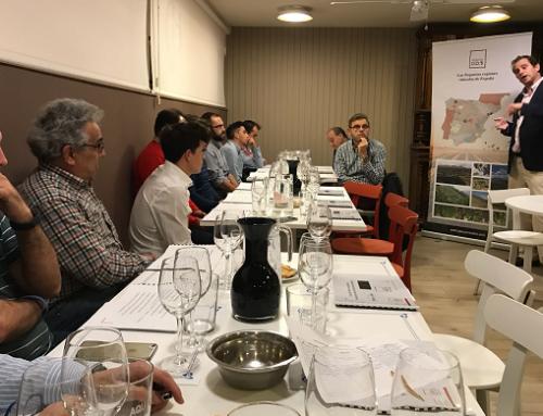 Los vinos asturianos se presentan a los Sumilleres de Palencia