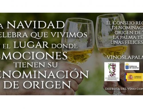 La DO La Palma lanza su nueva campaña de imagen por Navidad