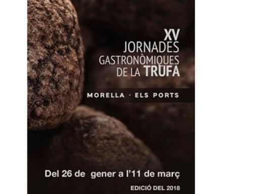 La DO Terra Alta colabora un año más con las Jornadas de la Trufa de Morella