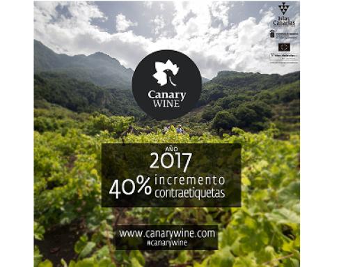 Canary Wines bate récord de etiquetas