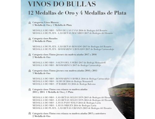 La Pequeña DO Bullas clausura la XI Muestra de sus vino y entrega de los premios a los ganadores del Certamen de Calidad