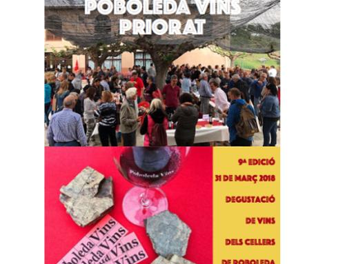 """El 31 de marzo se celebra la 9ª edición de """"Poboleda Vins"""""""