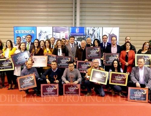 Varios vinos de las Pequeñas D.O.'s Uclés, Manchuela y Ribera del Júcar premiados en la XXVI edición de los Vinos de Cuenca