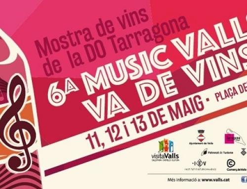 La Pequeña DO Tarragona junta la Música y el Vino desde hoy hasta el día 13 de mayo
