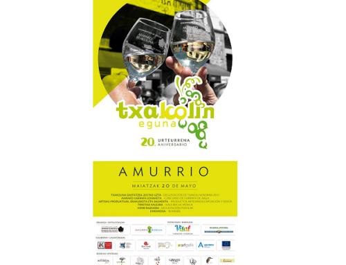La Pequeña DO Txakoli de Araba celebra el próximo 20 de mayo en Amurrio su fiesta