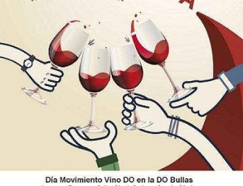 El Consejo Regulador D.O.P. Bullas participa en el Día Movimiento Vino DO que se celebra por segundo año consecutivo el sábado 12 de mayo
