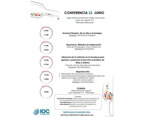 La DO Manchuela organiza mañana una Jornada sobre tecnología aplicada a la elaboración del vino