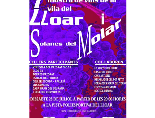 La Pequeña DOCa Priorat celebra la Muestra de Vinos de la Villa de Alabar