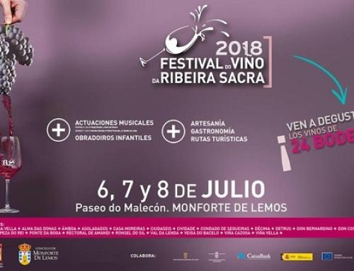 Comienza hoy el Festival de la Pequeña DO Ribeira Sacra con varios actos