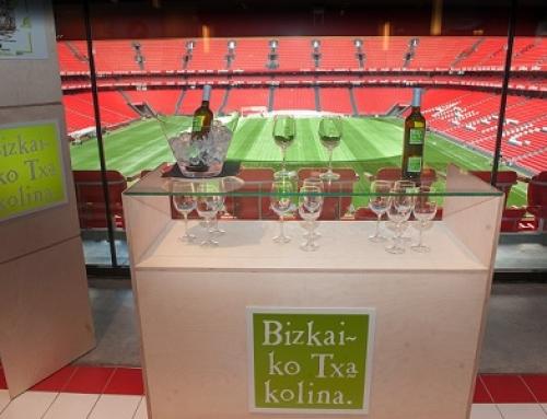 El Txakoli de Bizkaia seguirá presente en San Mames VIP Area una temporada más