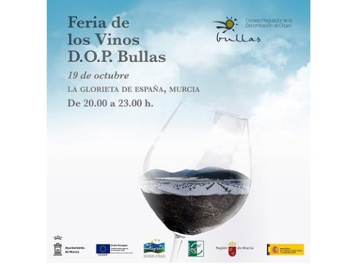 La Pequeña DO Bullas celebra este viernes su Feria (aplazada por motivos meteorológicos)