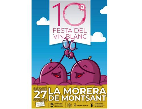 Mañana sábado se celebra la Xª edición de la Fiesta del Vin Blanco en La Morera de Montsant de la Pequeña DOCa Priorat