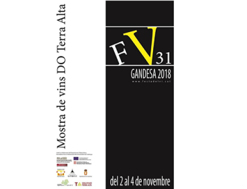 Los vinos de la Pequeña DO Terra Alta protagonistas de la 31ª edición de la Festa del Vi de Gandesa