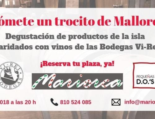 Bodegas Vi Rei (Pequeña DO Pla í Llevant) presenta sus vinos en la Sala Gourmet Mariorca de Madrid