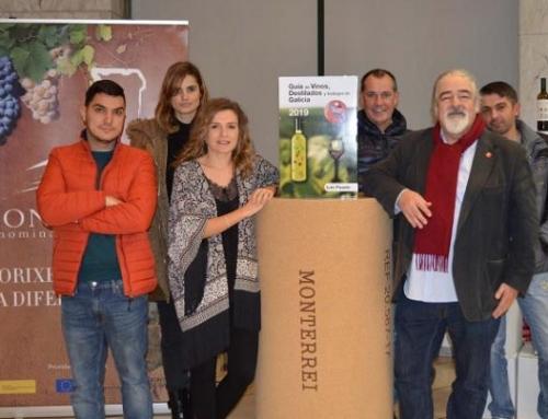 """Monterrei acoge la presentación de la Guía de Vinos, Bodegas y Destilados de Galicia 2019"""""""