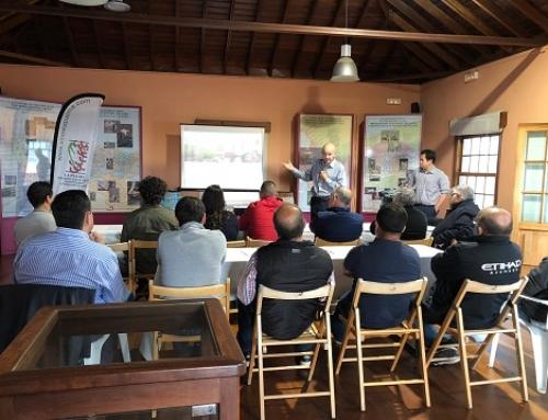 Expertos en enoturismo se interesan por los vinos de la Pequeña DO La Palma