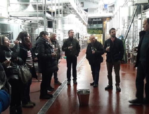 Las bodegas de la Pequeña DO Pla de Bages visitan el Pallars en Costers del Segre