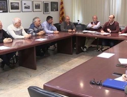 La Pequeña DO Terra Alta y entidades sociales y empresariales de la zona se reúnen con el Presidente Torra para abordar el tema de la masificación eólica