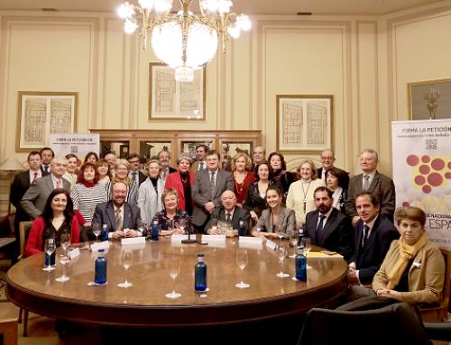 La AEPEV presenta en las tertulias enológicas del Casino de Madrid su proyecto de convertir el vino en Bebida Nacional