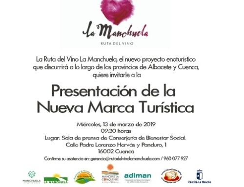 Hoy y mañana se presenta la Ruta del Vino de la Pequeña DO Manchuela