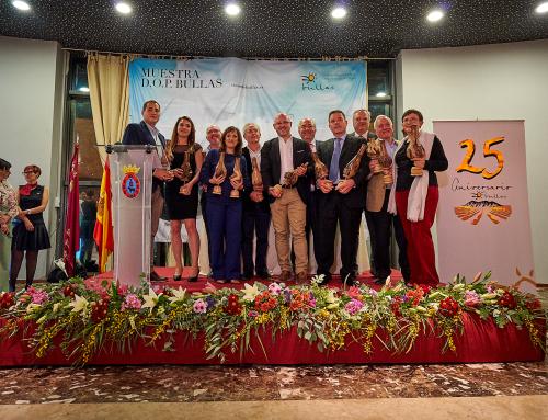 La Pequeña D.O. Bullas se viste de ORO para conmemorar su 25 Aniversario