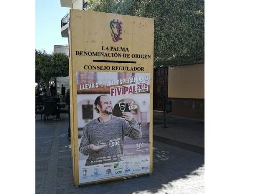 Rotundo éxito de los vinos de la Pequeña DO La Palma en FIVIPAL 2019
