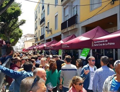 Los vinos de la Pequeña DO La Palma conquistan Santa Cruz de La Palman en el IV encuentro Enogastronómico