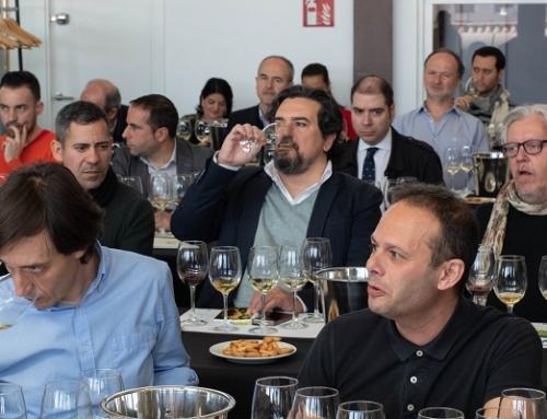 Gran éxito de los vinos de la Pequeña DO Txakoli de Bizkaia en Madrid
