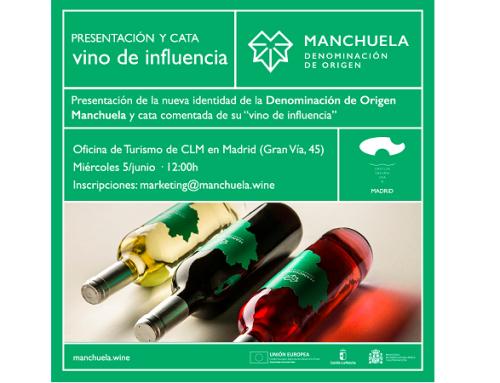 El próximo 5 de junio la Pequeña DO Manchuela presentará en Madrid su vino de influencia
