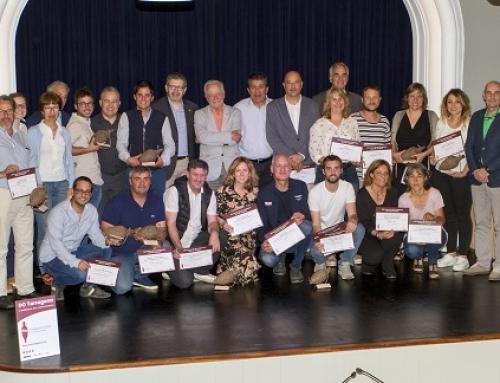 Once bodegas representativas la Pequeña DO Tarragona recogen los premios del XXV Concurso de Vinos