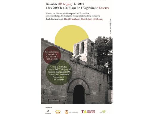 La Pequeña DO Terra Alta celebra la 6ª edición del eclipse de la garnacha blanca en Caseres