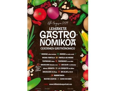 La Pequeña DO Txakoli de Bizkaia estará en el Concurso Gastronómico de Aste Nagusia