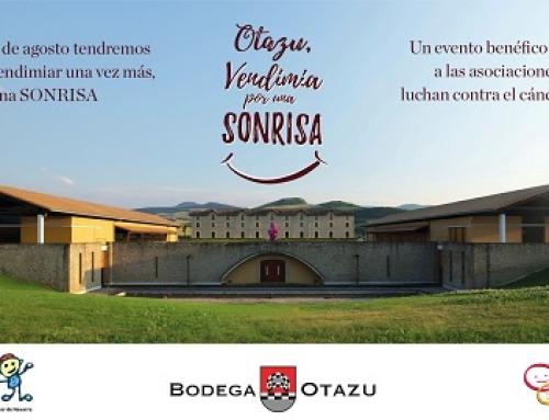 La Pequeña DO Pago de Otazu organiza el próximo 31 de agosto su vendimia solidaria