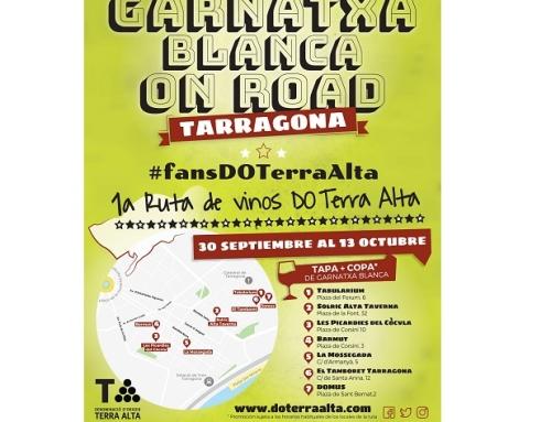 La Pequeña DO Terra Alta presenta la ruta de la Garnacha Blanca en Tarragona