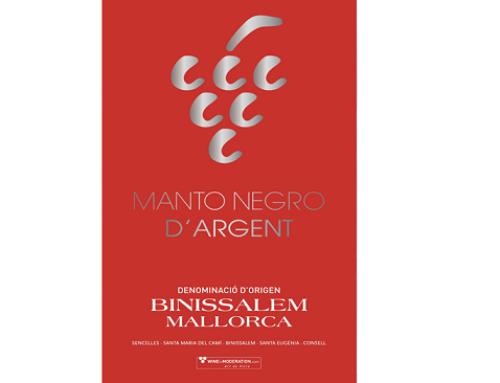 """El sábado 7, tendrá lugar la V Edición del """"Reconocimiento Manto Negro d'Argent"""" en la Pequeña DO Binissalem"""