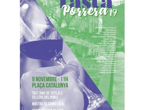 Mañana sábado 9 de noviembre nueva edición de la cata de la Villa de Porrera de la Pequeña DOCa Priorat
