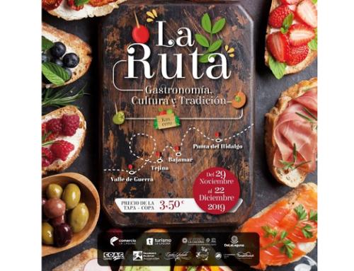 """La Pequeña DO Tacoronte-Acentejo colabora con """"La Ruta"""" para promocionar sus vinos"""