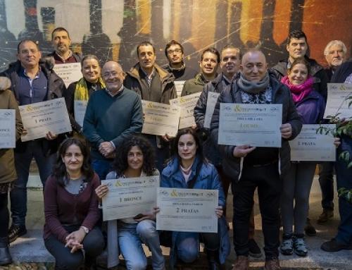 14 bodegas de la Pequeña D.O. Ribeira Sacra reciben sus premios HGg&T