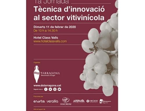 La Pequeña DO Tarragona organiza en Valls una jornada técnica de innovación vitivinícola el martes 11 de febrero