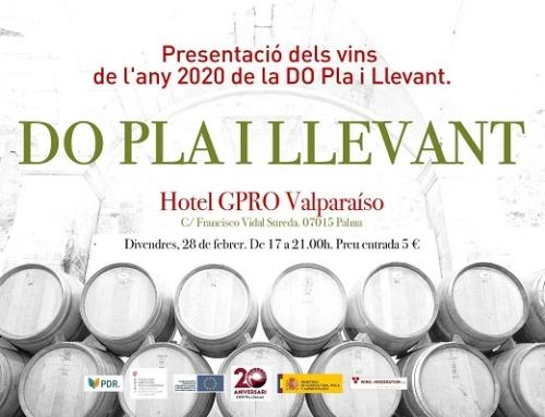 La Pequeña DO Pla i Llevant presenta sus vinos el próximo 28 de febrero