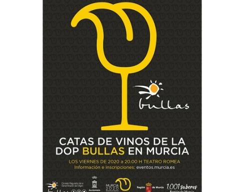 Ciclo de Catas de Vinos de la Pequeña D.O. Bullas, los viernes en la Sede de Murcia Capital Gastronómica