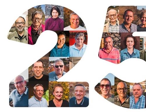 La Pequeña DO La Palma repasa los 25 años desde su creación
