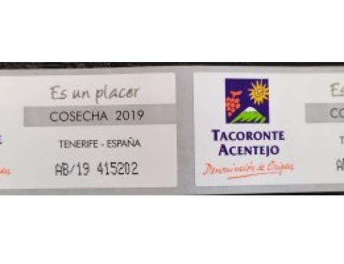 La cosecha 2019 de la Pequeña DO Tacoronte Acentejo ya disponible