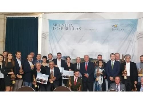 La Pequeña D.O. Bullas hace entrega de los premios del XIII Certamen de Calidad de sus vinos