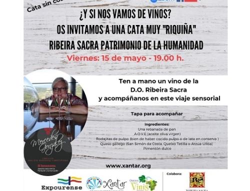 Este viernes comienzan las catas de vinos gallegos con vinos de la Pequeña DO Ribeira Sacra